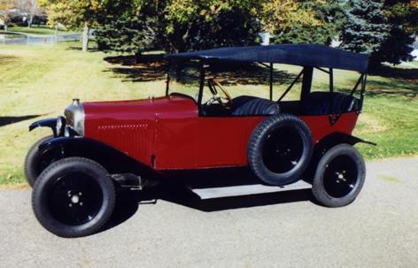 10 HP Type A Torpédo 1919 Rouge