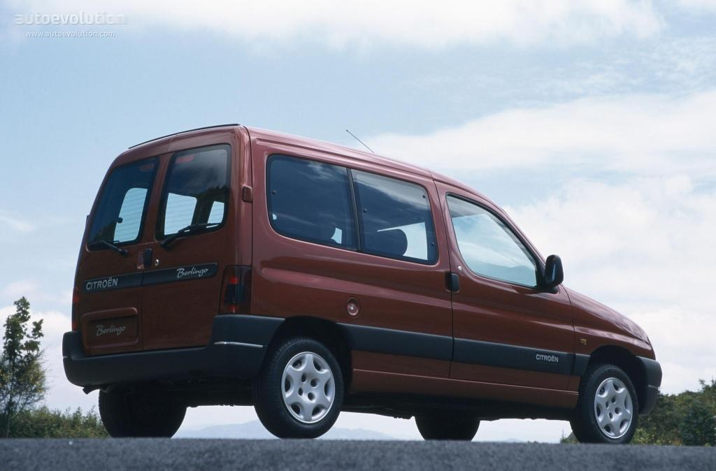 Berlingo 5 places SX 1996